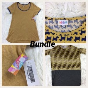 Lula Roe Bundle Lot Size XS and XXS Classic T Dogs